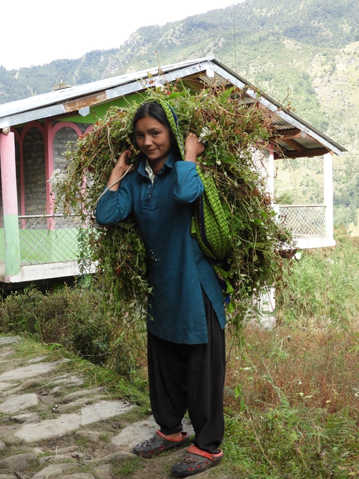 khati village woman