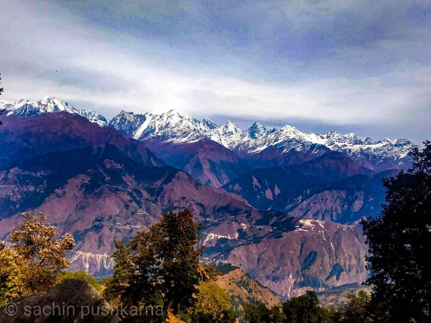 Himalayas from Betuli dhar